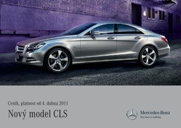 Nový model CLS - Mercedes-Benz PRAHA