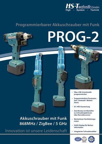 Programmierbarer Akkuschrauber mit Funk ... - HS-Technik