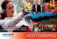Kulturkalender 2009-Kopie - Voitsberg