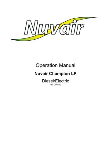 Champion R15 and R30 LP Compressors - Nuvair