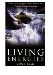 Living Energies – Callum Coats – Part 1 - Food For Thought Store