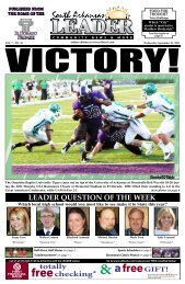 publisher: south arkansas leader, lc - 1 Website for all that is El ...