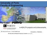 University of Porto Faculty of Engineering - EuroAfrica-ICT