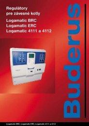Regulátory pre závesné kotly Logamatic BRC Logamatic ... - Buderus