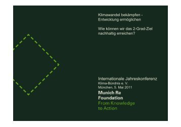 Internationale Jahreskonferenz - Climate Alliance