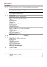 Congress Agenda - International Neuromodulation Society