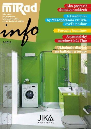 MIRAD Info, číslo 3/2013