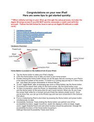 Set up your new iPad