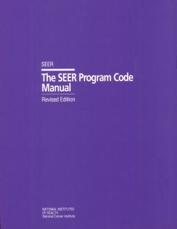 revised edition 1992 - SEER - National Cancer Institute