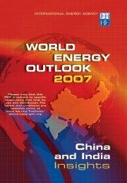 World Energy Outlook 2007