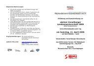 alpinen Vorarlberger Landesmeisterschaft 2009 am Samstag, 11 ...