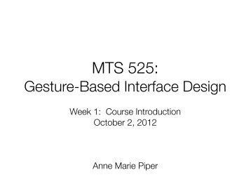 Lecture Slides - Northwestern University