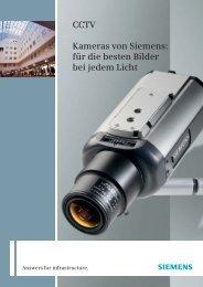 CCTV Kameras von Siemens: für die besten Bilder bei jedem Licht