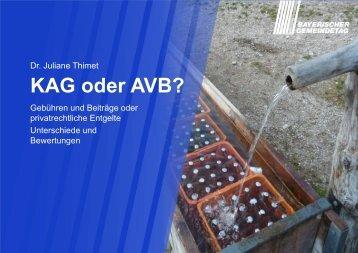 KAG oder AVB? - ipse-service.de
