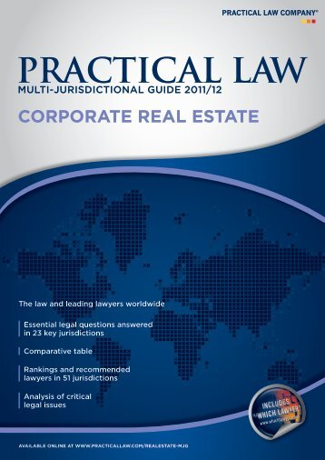 U.S. section of the Practical Law Company's - Ropes & Gray