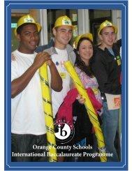 (IB)Programme - Orange County Schools
