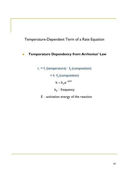 temperature dependent activation energy