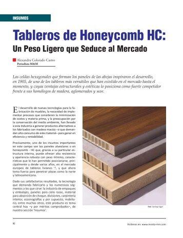 Tableros de Honeycomb HC: - Revista El Mueble y La Madera