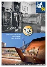 programm 2011 - Landesmuseum Niederösterreich