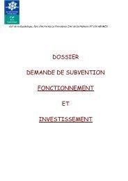 Demande de Subvention imprimé - Caf.fr