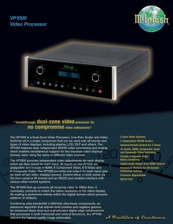 5018 McIntosh VP1000 - Audio Classics