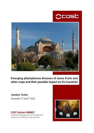 Istanbul meeting 2011.pdf - Phytoplasma