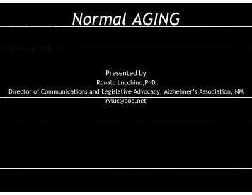 Normal AGING