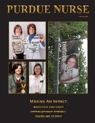 2011 Purdue Nurse 2.6.indd - School of Nursing - Purdue University
