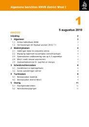 5 augustus 2010 - Scheidsrechters Vereniging Veenendaal