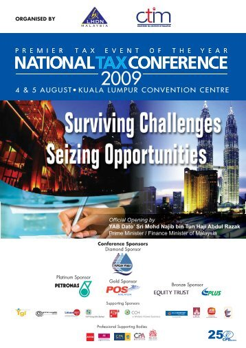 4 & 5 augustū kuala lumpur convention centre - Chartered Tax ...