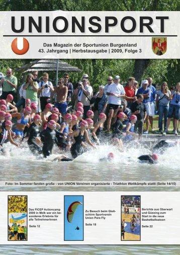 Unionsport Herbstausgabe 2009 - bauerpat.net