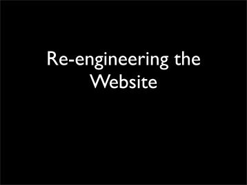Re-engineering the Milton Keynes PM website - Milton Keynes Perl ...
