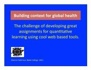 The challenge of developing great assignments for quan ... - asmcue