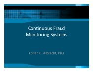 Continuous Fraud Monitoring