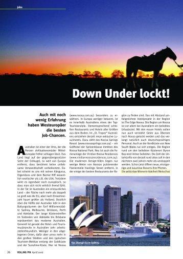 Down Under lockt! - Auswandern