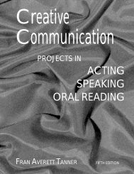Creative Communication - Perfection Learning