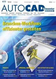 Leseprobe AUTOCAD & Inventor Magazin 2013/04
