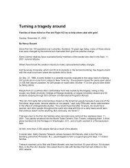Turning a tragedy around - Archives - Syracuse University