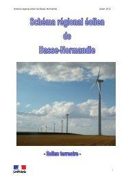 Schéma régional éolien - DREAL Basse-Normandie