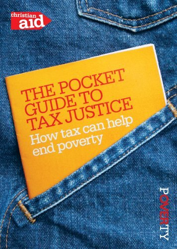 The Pocket Guide to Tax Justice - Christian Aid Collective