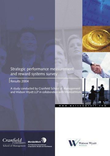 Strategic Performance Measurement and Reward ... - WorldatWork