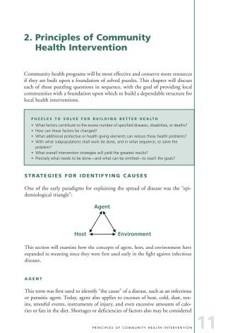 2. Principles of Community Health Intervention - p u b l i c a t i o n s ...