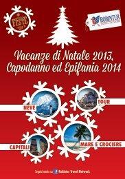 Vacanze di Natale 2013, Capodanno ed Epifania ... - Viaggia con noi