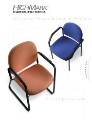 Companion Guest/Stacking Chairs - Highmark