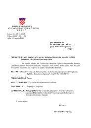 Izvješće o radu Lučke uprave Splitsko-dalmatinske županije za ...