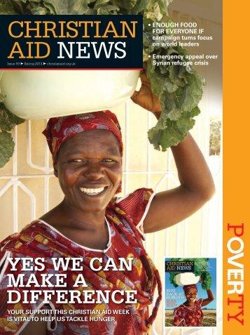 CHRISTIAN AID NEWS