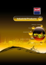 Catalogue for general industrial applications - Krafft