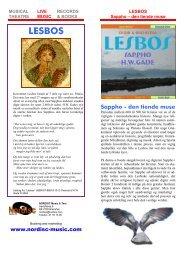 LESBOS - NORDISC Music & Text