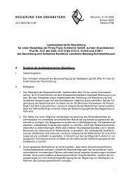 Landesplanerische Beurteilung - Planungsverband Region Ingolstadt