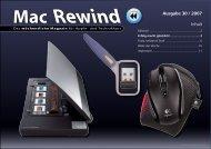 Mac Rewind - Issue 30/2007 - MacTechNews.de - Mac Rewind